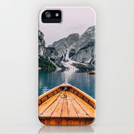 Lago Adventure iPhone Case