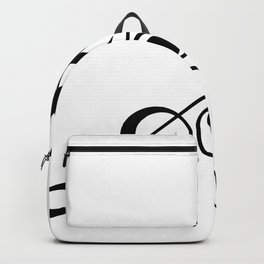Treble Clef Triangle Backpack