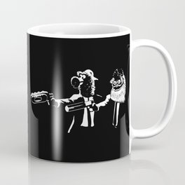 Phan Fiction Gritty Phillie Phanatic Pulp Fiction Coffee Mug