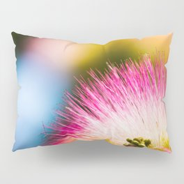 Exotic summer pink silk tree mimosa Pillow Sham