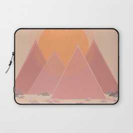 The quiet mountains Laptop Sleeve