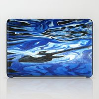 grateful dead iPad Cases featuring Jerry Garcia Blues Acrylic Painting Grateful Dead by Acorn