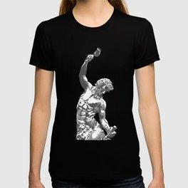 Self-Made Men statue T-shirt