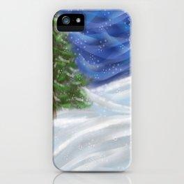Tree & Snow iPhone Case