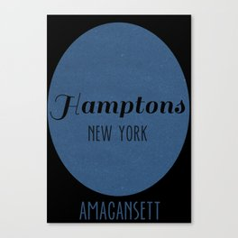 Hamptons, New York Canvas Print