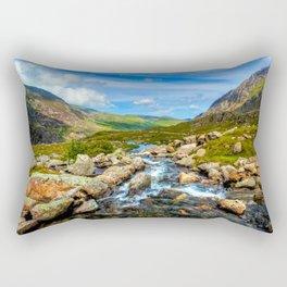 White Rocks ||| Rectangular Pillow