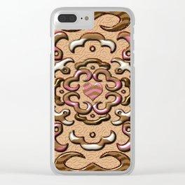 Dulces de chocolate Clear iPhone Case