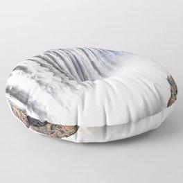 Zimbabwe, Africa - Victoria Falls Floor Pillow