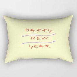 happy new year 2 Rectangular Pillow