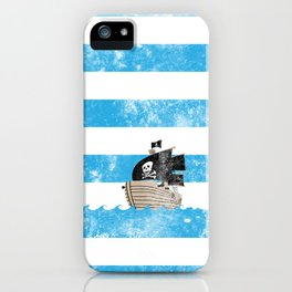 Pirates Love Stripes iPhone Case