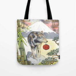 2018 Chinese New Year of the Earth Dog Tote Bag