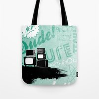 revolution Tote Bags featuring Revolution by ColbyGreen