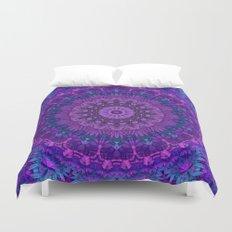 Harmony in Purple Duvet Cover