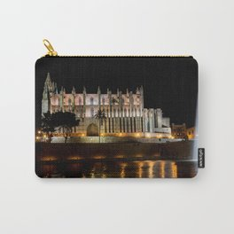 Cathedral of Palma de Mallorca at night - Spain Carry-All Pouch