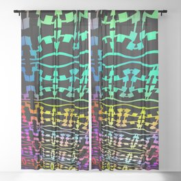 Colorandblack serie 49 Sheer Curtain