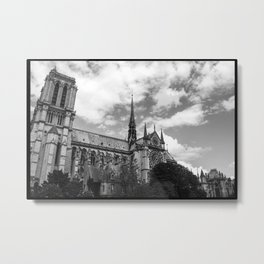The Notre Dame Metal Print