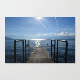 Dock to Heaven Canvas Print