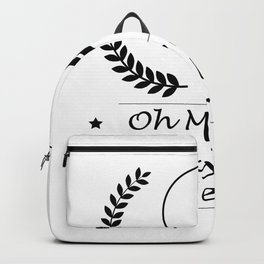 Look At Her Putt Golf Funny Gifts Backpack