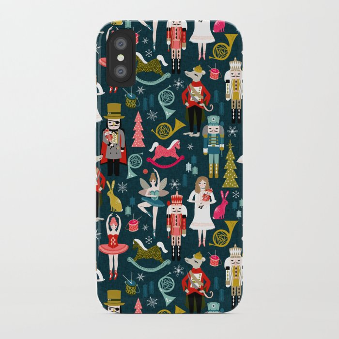nutcracker ballet by andrea lauren iphone case