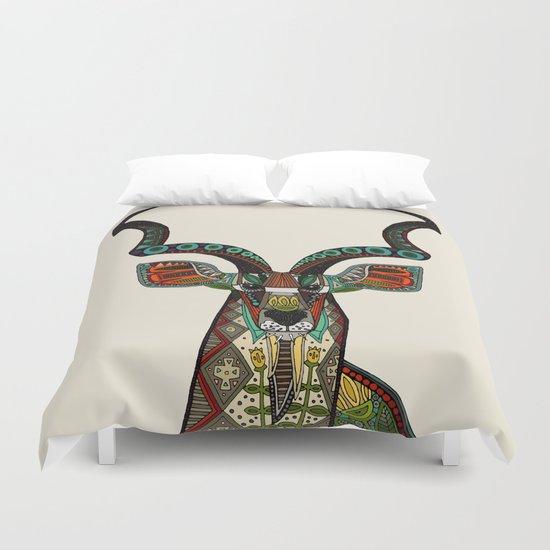 antelope ivory Duvet Cover