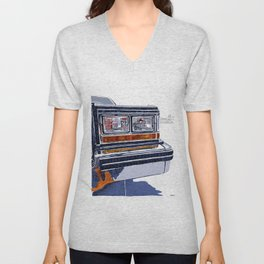 Hit the road Unisex V-Neck