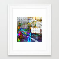 discount Framed Art Prints featuring Wednesday 15 January 2014: To everything there is a seasonal discount period. by Juan Antonio Zamarripa [Esqueda]