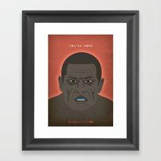 Breaking Bad - Seven Thirty-Seven Framed Art Print