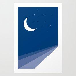 Dream Onwards Art Print