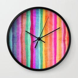 joyful wave Wall Clock