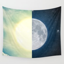 As each day ends... Wall Tapestry