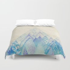 Let's Move Mountains Duvet Cover