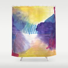 purpleone Shower Curtain