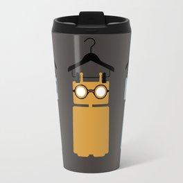 3 robots on hangers Travel Mug