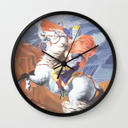 Crossing the St. Bernard III Wall Clock