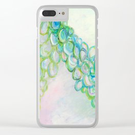 Moving In Different Directions, Abstract Painting Clear iPhone Case