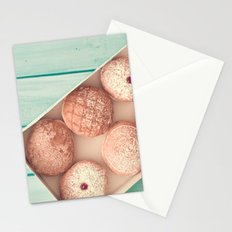 Donuts lovers Stationery Cards