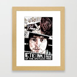 Eternal Sunshine of the Spotless Mind by Aaron Bir Framed Art Print