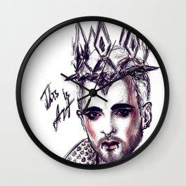 billy traumer kaulitz  Wall Clock