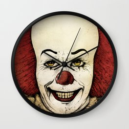 It - Pennywise (Color Version) Wall Clock