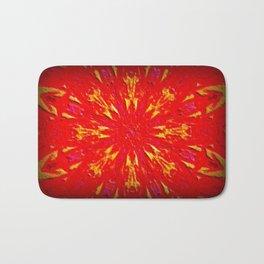 Fire Mandala Bath Mat