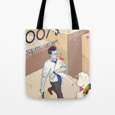 YOU KNOW MY NAME Tote Bag