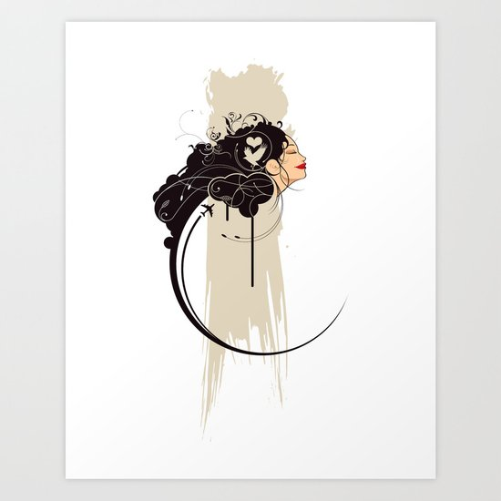 The Daydreamer Art Print