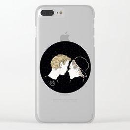 Universe love Clear iPhone Case