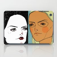sister iPad Cases featuring Sister Sister by Le Butthead