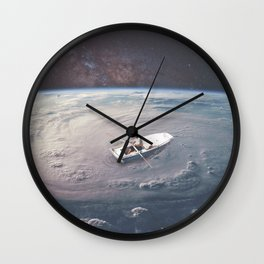 Rowing the Cosmos Wall Clock
