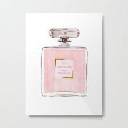Pink Parfum Metal Print