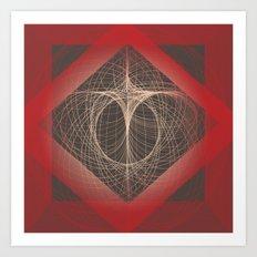Eye of Chaos Art Print