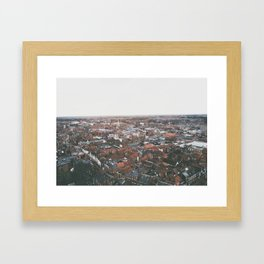 Wide and ancient Framed Art Print