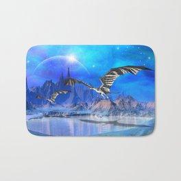 Fantasy Dragons Bath Mat