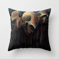 See Evil, Hear Evil, Speak Evil Throw Pillow